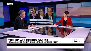 Trump welcomes al-Sisi: US president rolls out red carpet for Egypt's strongman (part 1)
