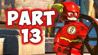 LEGO DC SUPERVILLAINS - PART 13 - FLASH Vs. JOHNY QUICK! (HD)
