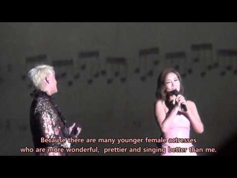[ENG Sub] 121229 XIA JUNSU Ballad&Musical Concert Talk with Kim Sunyoung