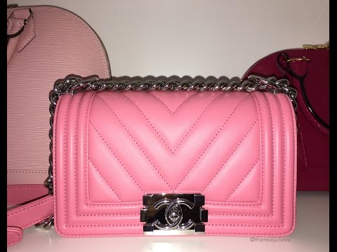 Chanel Le Boy Small Pink Unboxing!