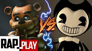 FREDDY VS BENDY | EVIL RAP BATTLE | KRONNO & NERY GODOY | Prod by Tunna Beatz