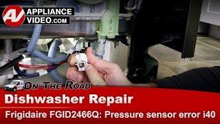 Frigidare, Electrolux Dishwasher - Pressure switch error - Diagnostic & Repair