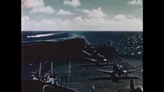 Aircraft carrier infofilm - WW2 in Color