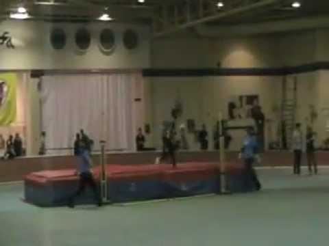 2012 OUA Championships Mens High Jump Part 1 - 2-25-12
