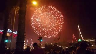Malta festival - single biggest firework ever !! World Record .... Sept 2016