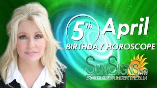 Birthday April 5th Horoscope Personality Zodiac Sign Aries Astrology