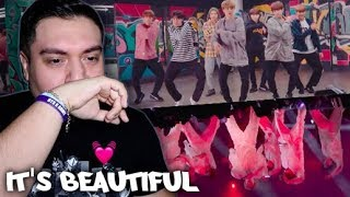 BTS HEARTBEAT MV + Lyrics REACTION