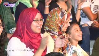 صويلح يبدع باسكينشات رائعة في مهرجان أكادير للضحك   شوف تيفي