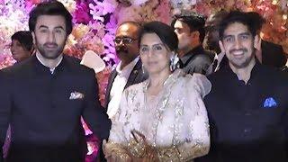 Ranbir Kapoor Arrives With Mother Neetu and Ayan Mukerji