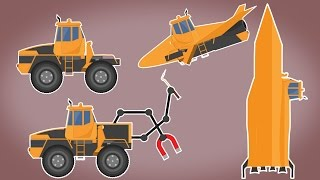 Transformer | Space Shuttle | Space Utility Vehicles Rocket | Vehicles Video For kids