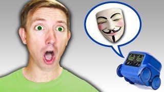 SPY ROBOT vs YouTube HACKER (Exploring Abandoned Evidence Hidden by Project Zorgo)