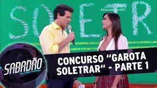 Sabadão com Celso Portiolli (05/03/16) - Concurso ´´Garota Soletrar`` - Parte 1