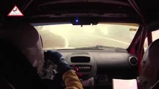 On-Board Pep Bassas - Jaume Poch | Peugeot 107 | Ral·li La Pineda Platja 2016 [Passats de canto]