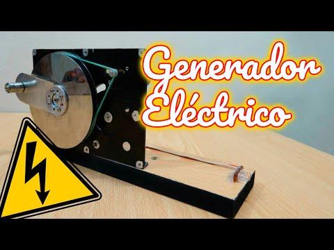 C mo hacer un generador el ctrico casero con disco duro - Mini generador electrico ...