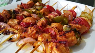 Chicken Shashlik sticks orignal recipe By (YES I CAN COOK)