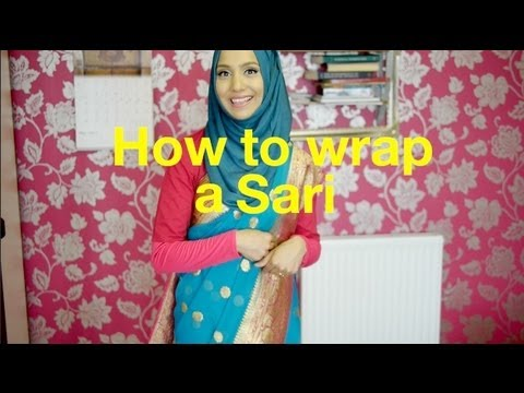 Xxx Mp4 HOW TO TIE A SARI HIJAB FRIENDLY STYLE L Amena 3gp Sex