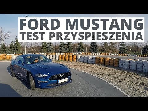 Ford Mustang GT 5.0 V8 450 KM (AT) - acceleration 0-100 km/h