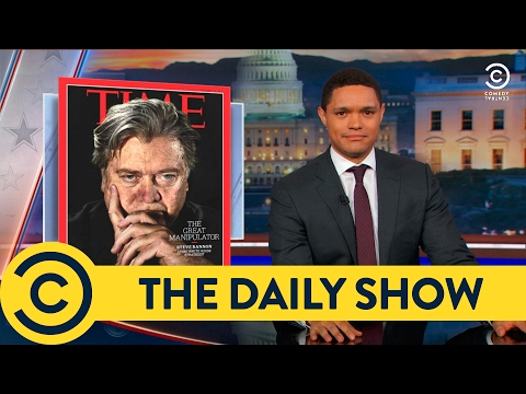 Steve Bannon is the Real President The Daily Show Comedy Central