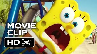 The SpongeBob Movie: Sponge Out of Water Official Movie Clip - Bicycle (2014) - Animated Movie HD