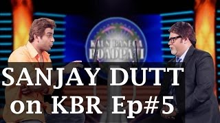 Sanjay Dutt on Kaun Banega Roadpati Season 2 - Full Episode 5 - ComedyOne