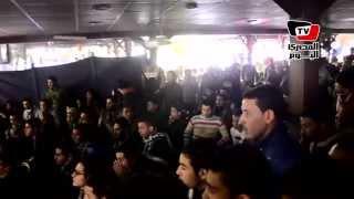 رد فعل جمهور «المصري» في بورسعيد خلال مباراة الأهلي
