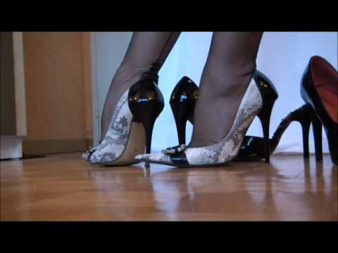 Compilation of feet legs nylons and heels