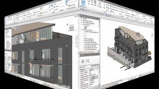Revit :   Présentation bâtiment BIM
