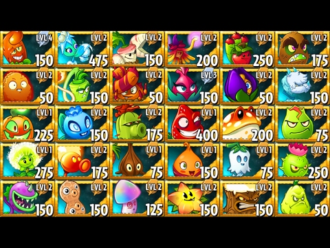 All Premium Plants in Plants vs Zombies 2 Power Up