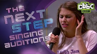 Funny Singing Auditions - The Next Step on CBBC