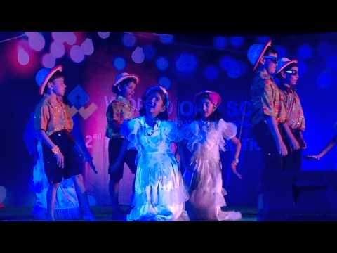Barby Dance by World One School  Hyderabad 01 02 15