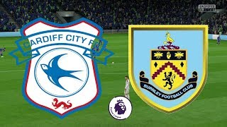 Premier League 2018/19 - Cardiff City Vs Burnley - 30/09/18 - FIFA 18