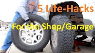 5 Life-Hacks for the Shop/Garage