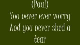 MIchael Jackson & Paul McCartney Say Say Say Lyrics