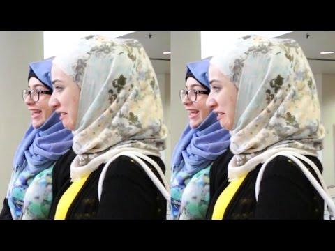 Gadis SYRIA TERKEJUT melihat gaya tudung orang Malaysia!!!