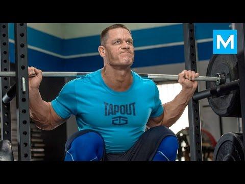 John Cena Training for WWE | Muscle Madness