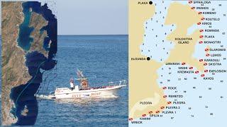 Tauchen in Kreta, Fahrt zum Tauchplatz