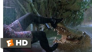 Jumanji (5/8) Movie CLIP - Crocodile Attack (1995) HD