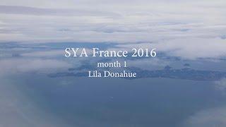 SYA France 2016   month 1