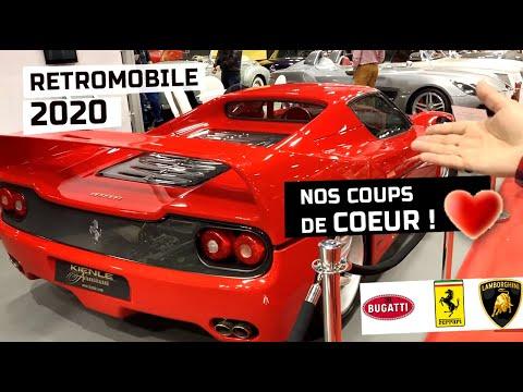 RÉTROMOBILE 2020 Des flops aux belles voitures collection