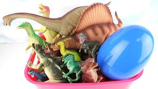 My Dinosaurs Toy Box! Opening Dinosaur Toys Box. Learning dinosaurs names and sounds For Kids. 공룡상자