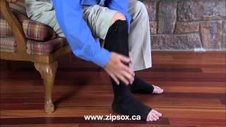 Zip Sox - new zip up compression socks