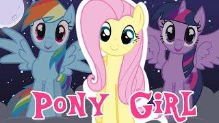 Fluttershy Reacts to Pony Girl II FLUTTERSHY IS SAAAALTY