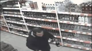Robo fallido a supermercado