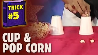 Magic Tricks - Cup and balls trick for beginners  (Hindi)