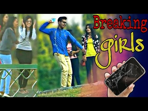 Breaking GIRLS Phone Prank | Pranks in INDIA | FUDDU PRANK