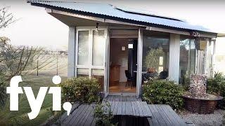 Tiny House World: Tiny Two-Story Pop-Up | FYI