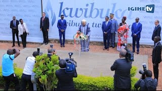 King Mohammed VI of Morocco pays tribute to the victims of 1994 Genocide against Tutsi (20/10/2016)