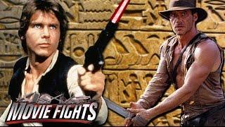 Han Solo vs Indiana Jones - MOVIE FIGHTS! Live from Chicago Comic Con