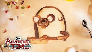 Adventure Time | Bacon Pancakes - Pancake Art REMIX! | Cartoon Network