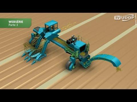 Novo conceito de colheita estuda máquina com linha de 9 metros